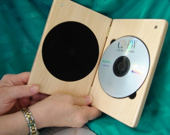 DVDCase,Maple,SingleDVDCase,DVD,CD,Wood,Engraved,PersonalizedEngraving
