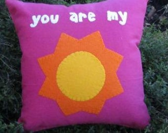 You are my sunshine pink
