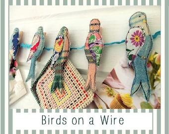 Birds on a Wire pdf sewing pattern