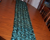 Jade/Teal/Hunter Table Runners
