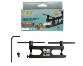 NEW BEADSMITH EZ Rivet Jewelry Making Tool Eyelet Setter