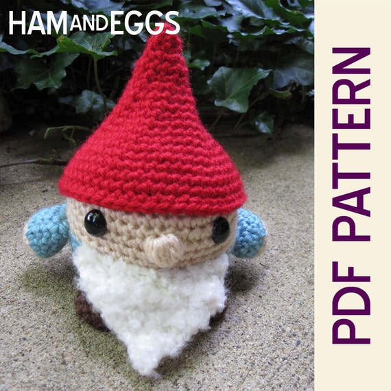 Amigurumi Hello Kitty Free Pattern : Roamin Gnome Amigurumi Crochet Doll PDF Pattern