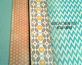 Custom Listing- Holli Carter- Set of 25 mixed pattern Thank You cards