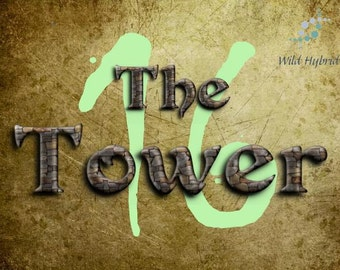 16 The Tower perfume oil - 5ml Lightning and stone