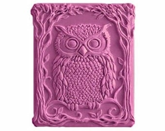 Owl Soap - Organic Soaps -  Glycerin Soap - Natural Soap - Moisturizing Soap  - Owls - Birds - Fragrance Oil Plumeria