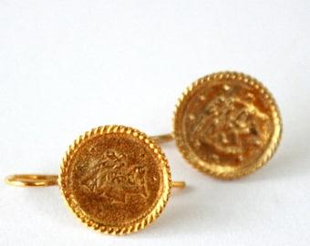 Elegant vintage Sterling Silver Gold Plated