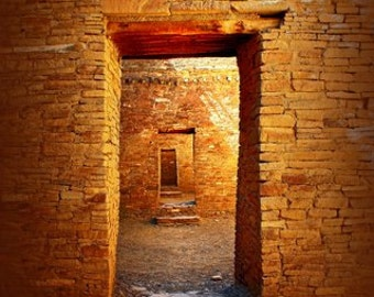 Native American - Chaco Canyon - New Mexico - Fine Art Photography - Southwest - Ancient