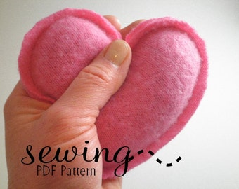Sewing PDF Pattern -Therapeutic Rice Bag Set - Hand warmers, Neck Bag, Eye Pillow, Back Pad, Feet Warmer
