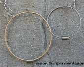 Recycled Guitar String - Restored Guitar String Links of LOVE necklace v.1