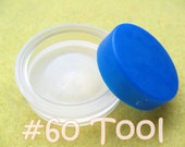 """Cover Button Assembly Tool - Size 60 (1 1/2"""") diy notion button supplies rubber hand press non machinery"""