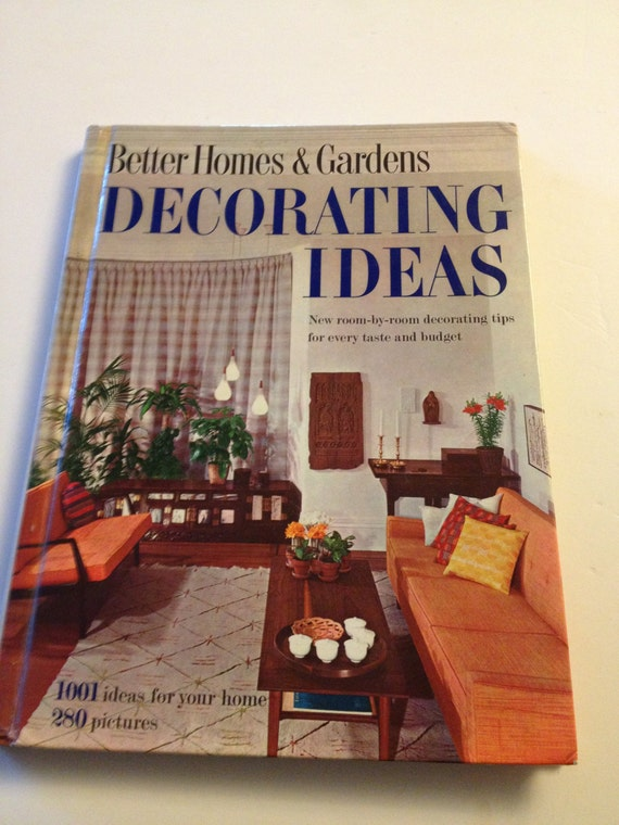 1960 better homes and gardens decorating ideas by for Garden design 1960s