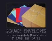 "4"" Square Envelopes"