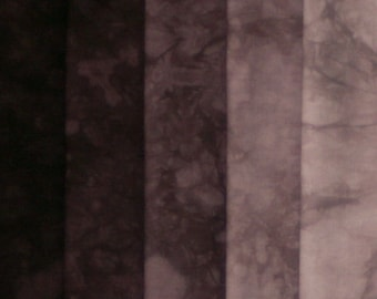 Hand Dyed Fabric Shades - Buffalo