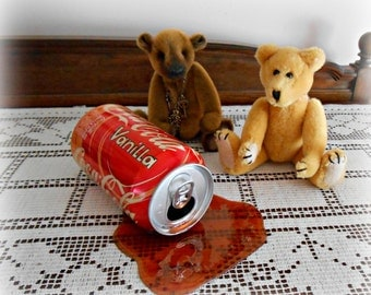 Fake Spilled Pop in a Vanilla Coke Can Gag Fun Prop April Fools Day