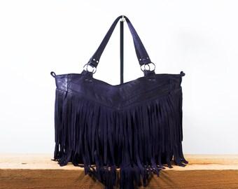 My favorite - Fringed leather handbag