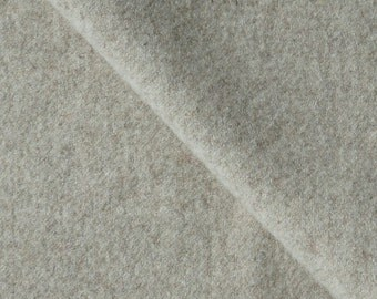 Oatmeal Felted Wool Fabric Perfect for Rug Hooking, Wool Applique, Doll Making and Crafts Projects