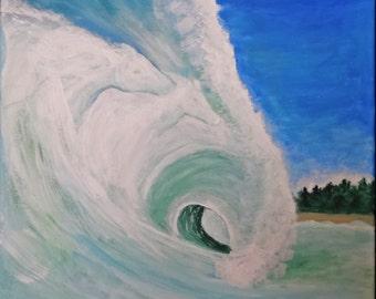 Original Painting Water Horses by Brenda Walden