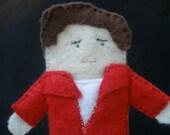 James Dean Finger Puppet