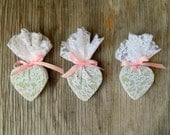 Eco Friendly Wedding Favors / Bridal Shower Favor / White Wedding Decor / QTY 50