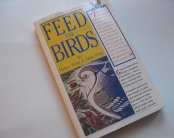 Vintage Book Feed the Birds Witty
