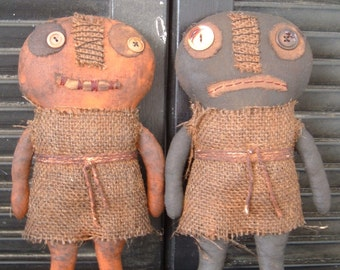 PriMitiVe HaLLoWeeN HeebieJeebie Doll epattern Instant Download
