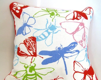 Butterfly & Friends - Insects Scatter Cushion / Throw Pillows