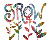 GROW up to the Sky - PRINT