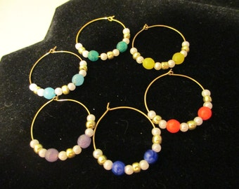 Wine Charms Gold 4