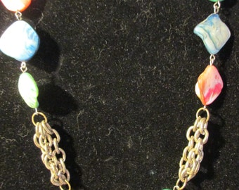 Necklace - Chain and Color N0066
