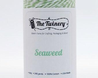 Full Spool - 240 Yards - Seaweed - Sage Green Baker's Twine