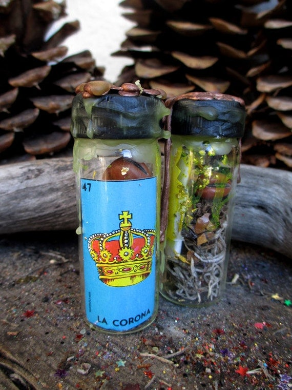 Rita's Crown of Success Hoodoo Charm Spell in a Jar - Get the Recognition You Deserve, Succeed and Acheive