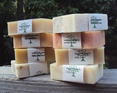 SALE...Mix and Match.... SIX bars of handmade soaps...