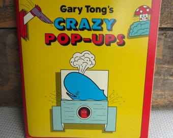 Vintage 1988 Gary Tong's Crazy Pop Ups Book