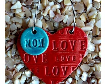 Ceramic HEART for your MOM
