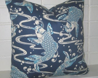 Kool Koi 20 inch  pillow cover accent pillow cover throw pillow