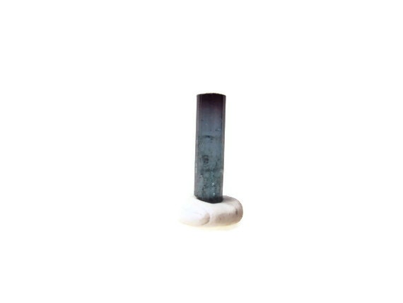 4 ct. Rough Blue Tourmaline, Indicolite Tourmaline, Natural Tourmaline from Pederneira Mine Brazil, New Age, Reiki Gemstone, Stone
