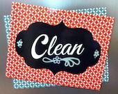 Dishwasher Magnet Set - Clean or Dirty Labels