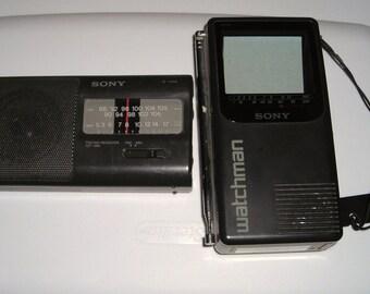 Sony Electronics....Am Fm Radio ....Watchman TV....Still Work......SW1