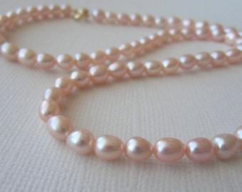 Pink pearls Necklace