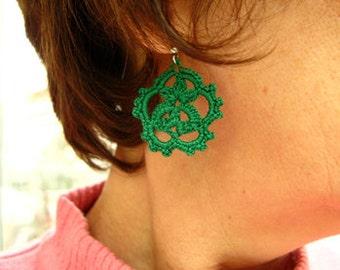 PDF Tutorial Crochet Pattern...Dangle Earrings -22