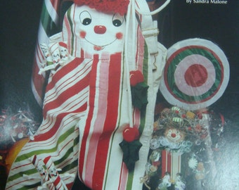 Peppermint Treats annd  Sweets (Painting) Book by Sandra Malone