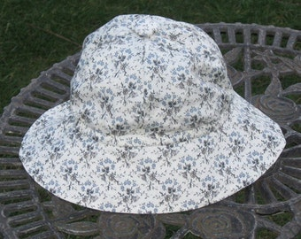 Lovely liberty lawn sunhat to suit a 1 year old little girl