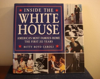 Vintage Inside the White House Book