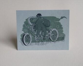Octobike Postcard