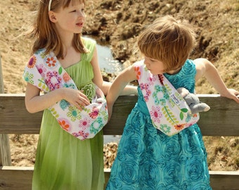 Baby Doll Carrier Child's Pouch Style Doll Sling - Spring Fling - FAST SHIPPING
