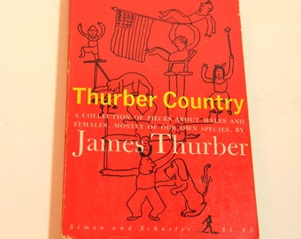 Thurber Country Vintage Book By James Thurber