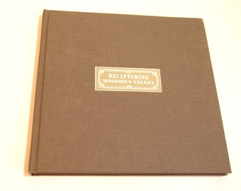 Recapturing Wisdom's Valley The Watervliet Shaker Heritage 1775-1975 By Dorothy M. Filley Vintage Book