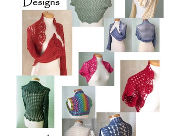 10 Shrugs, Crochet shrug patterns pdf