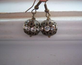 Faux Diamond Earrings - Wedding - Wedding Earrings