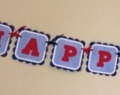 Farm birthday banner - party decorations, birthday supplies